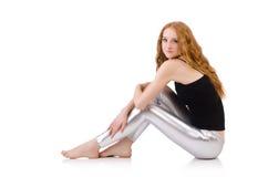 Young redhead girl Stock Photos