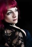 Young redhead seductive girl Stock Photos