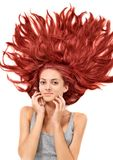 Young redhead woman Stock Photography