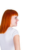 Young redheaded woman Stock Photography