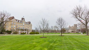 Young and Reid Halls at Lake Forest College Royalty Free Stock Photo