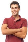 Young relaxed man Royalty Free Stock Image