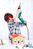Young repairman Royalty Free Stock Images