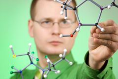Young researcher Royalty Free Stock Photos