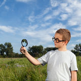 The young researcher Stock Photography