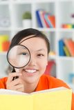 Young researcher Royalty Free Stock Photography