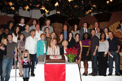 Young and Restless Cast at the Young & Restless 38th Anniversary On Set Press Party Stock Photo