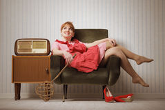 Housewife relaxing Stock Photos