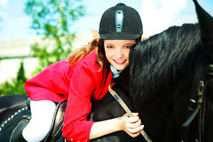 Young rider Royalty Free Stock Images