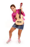 Young rock star Stock Photography