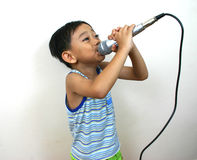 Young rock star Royalty Free Stock Photo