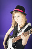 Rock chick Royalty Free Stock Photo
