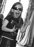 Young Rocker Stock Photography