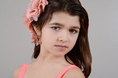 Young romanian girl Royalty Free Stock Images