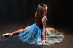 Young romantic ballerina posing Stock Photography