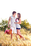 Young romantic couple Royalty Free Stock Images