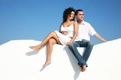Young romantic couple Stock Photos
