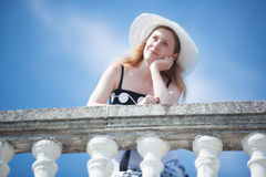 Young romantic woman Royalty Free Stock Photo