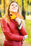 Young romantic woman Royalty Free Stock Images