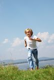 Young runner Stock Images