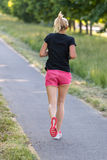 Young runner Stock Image