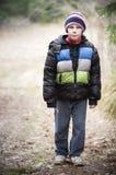 Young sad boy Stock Photography