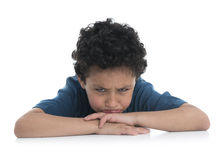 Young Sad Boy Upset Royalty Free Stock Image