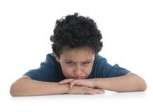 Young Sad Boy Upset Royalty Free Stock Image