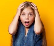 Young sad girl Stock Image