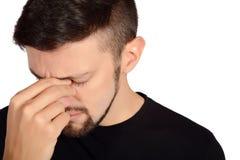Young sad man. Stock Image