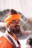 A young sadhu Stock Images