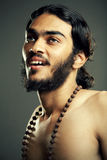 Young sadhu looking Royalty Free Stock Images