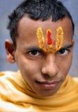 Young sadhu in Varanasi, India Royalty Free Stock Photo