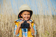 Young safari boy. Stock Image