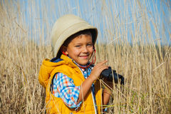 Young safari boy. Stock Photos
