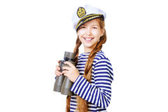Young sailor Stock Image
