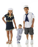 Young Sailors Walking Royalty Free Stock Images