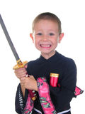 Young samurai Two Royalty Free Stock Images