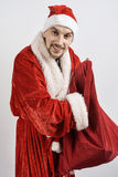 Young Santa Claus stock photo