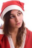 Young Santa Girl Stock Images