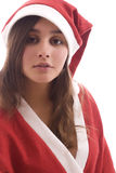 Young Santa Girl Stock Images