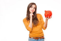 Young saver. Stock Photography