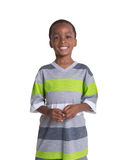 Young school aged boy Stock Image