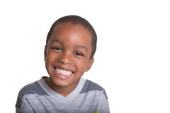 Young school aged boy Royalty Free Stock Photos