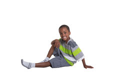 Young school aged boy Royalty Free Stock Photo