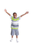 Young school aged boy Stock Photography