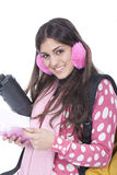 Young school girl Royalty Free Stock Photography