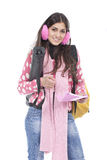 Young school girl Royalty Free Stock Images