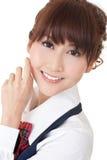 Young school girl Stock Image