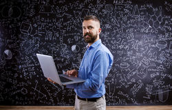 Young school teacher Royalty Free Stock Photography